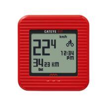 Kilométeróra CC Cat Fit Wireless (PD100W), piros - CATEYE
