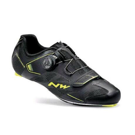 Cipő NORTHWAVE ROAD SONIC 2 PLUS 40,5 fekete-sárga