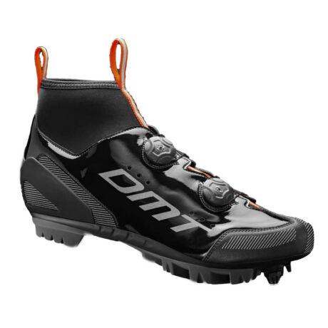 WM1 MTB kerékpáros cipő téli, fekete/narancs/ezüst - DMT
