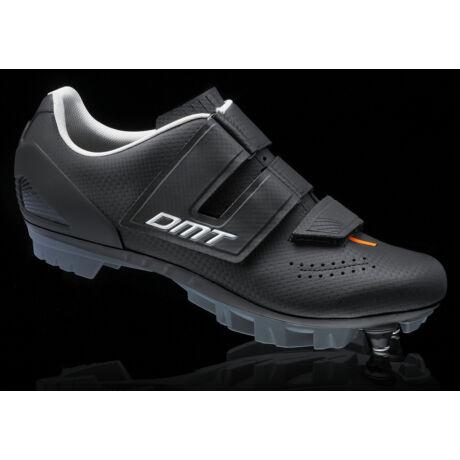 DM6 KID gyerek MTB kerékpáros cipő, fekete/fehér/narancs - DMT