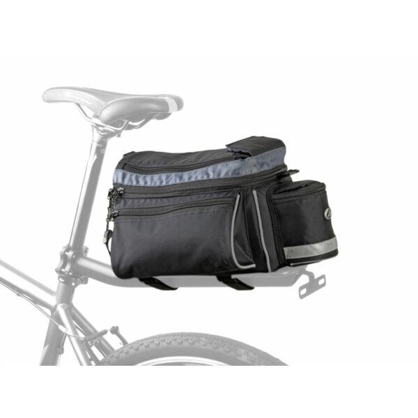 Csomagtartó táska A-N216 X7, fekete - AUTHOR