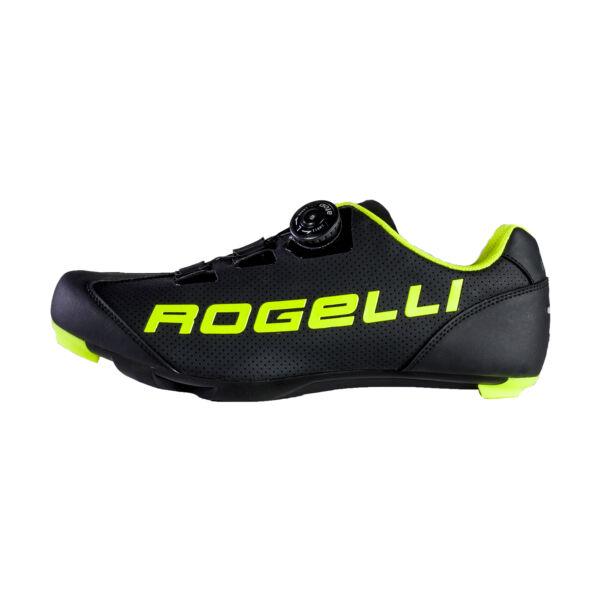 AB410 kerékpáros cipő, fekete/fluorite - ROGELLI