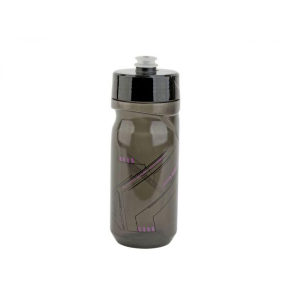 Kulacs AB-ScrewOn X9 600 ml, átlátszó fekete/ rózsaszín - AUTHOR