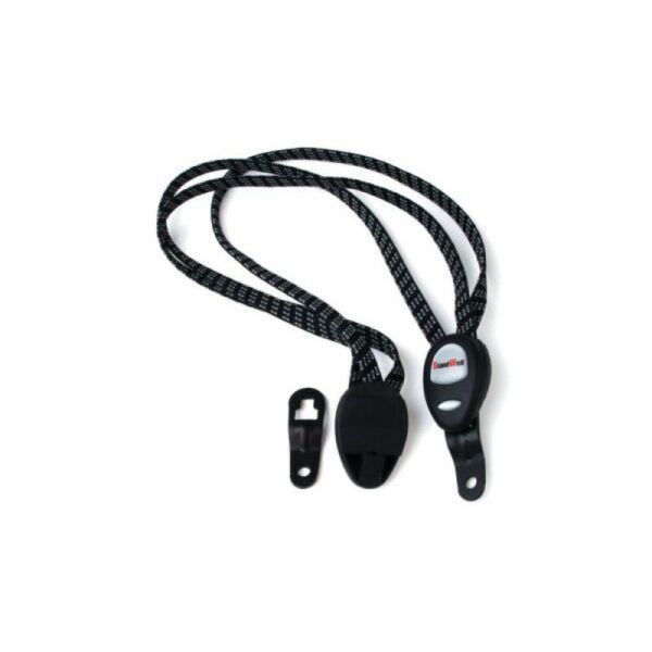 Csomagtartó gumipók AES-501, fekete - AUTHOR