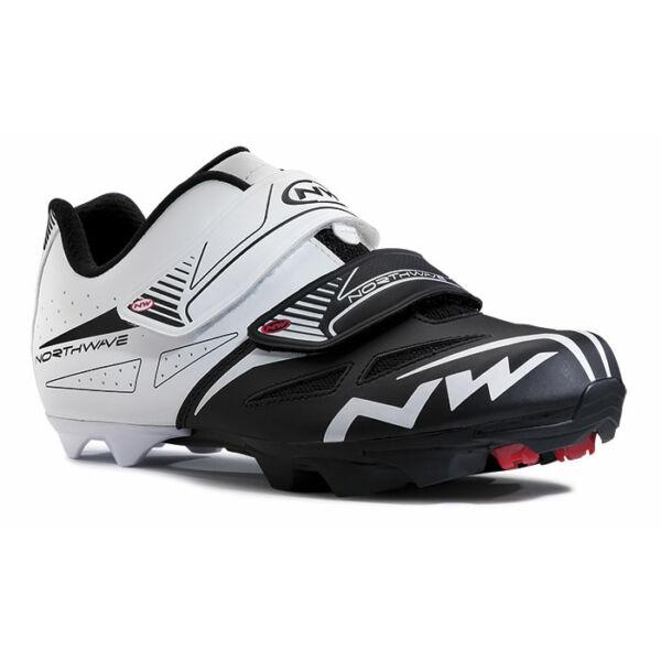Cipő NORTHWAVE MTB SPIKE EVO 35 fehér-fekete