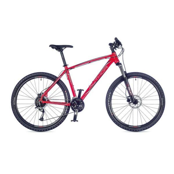 """Pegas férfi MTB 27,5"""" kerékpár, piros/fekete - AUTHOR"""