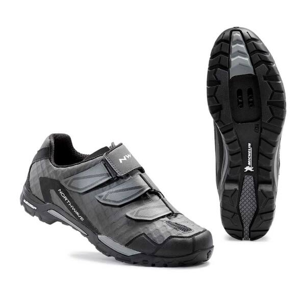 Cipő NORTHWAVE XC-TRAIL OUTCROSS 3V 43 antracit-fekete