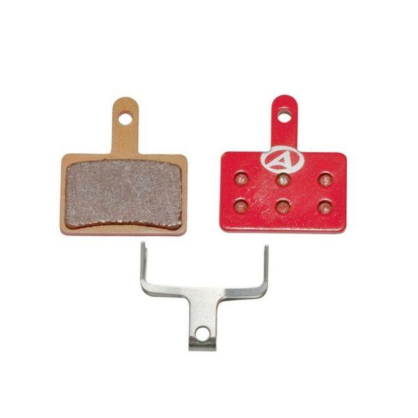 Fékbetét tárcsafékhez ABS-23S SHI B01, piros - AUTHOR