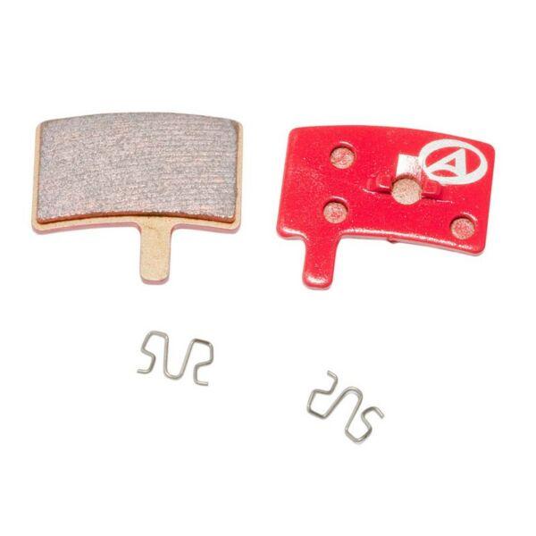 Fékbetét tárcsafékhez ABS-45S HAYES STROKER TRIAL, piros - AUTHOR