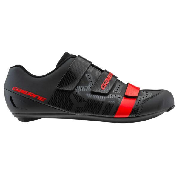 Record férfi országúti cipő, fekete/piros - Gaerne