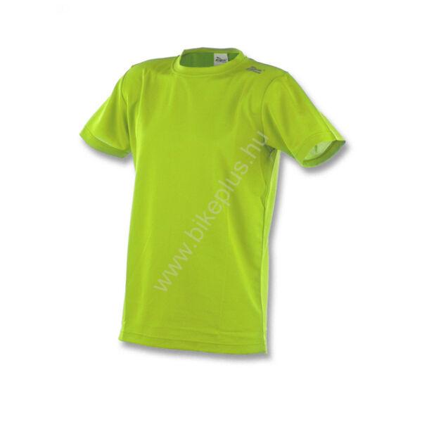 ba18f08775 PROMO rövid ujjú technikai póló, fluorite zöld - ROGELLI - ROGELLI -  Kerékpáros ruházat, kerékpár kiegészítő és alkatrész webáruház