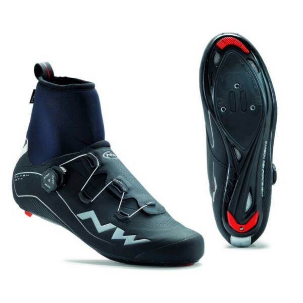 Cipő NORTHWAVE ROAD FLASH GTX 40 téli, fekete