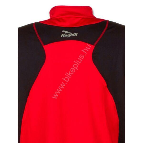 DILLON férfi hosszú ujjú futópóló, piros/fekete - ROGELLI