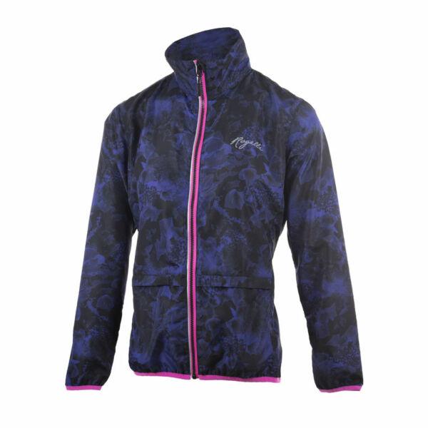 COSMIC női futó szélkabát, kék/rószaszín - ROGELLI