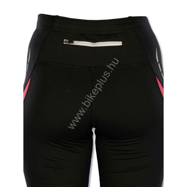 Indigo női futó rövidnadrág, fekete/lila - ROGELLI