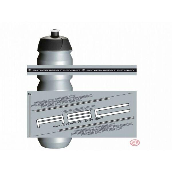 Kulacs AB-Tacx-Shiva 0,85l, ezüst/fehér - TACX