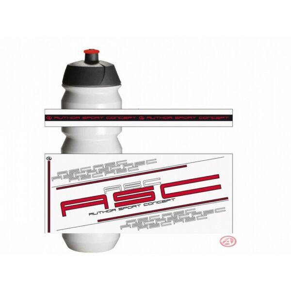 Kulacs AB-Tacx-Shiva 0,85l, piros/fehér - TACX