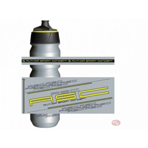 Kulacs AB-Tacx-Shanti 0,85l, ezüst/fluorite sárga - TACX