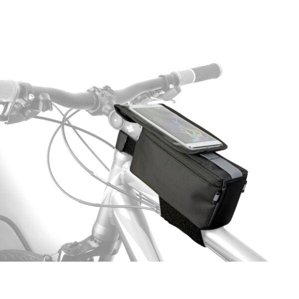 Váztáska első mobiltelefon tartóval A-R255 TANK MPP, fekete - AUTHOR