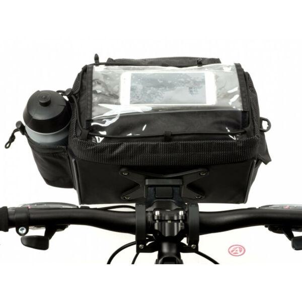 Kormánytáska A-H721 QRX7 d.25,4/d31.8 mm, fekete - AUTHOR