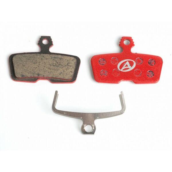 Fékbetét tárcsafékhez ABS-66 Avid Code R, piros - AUTHOR