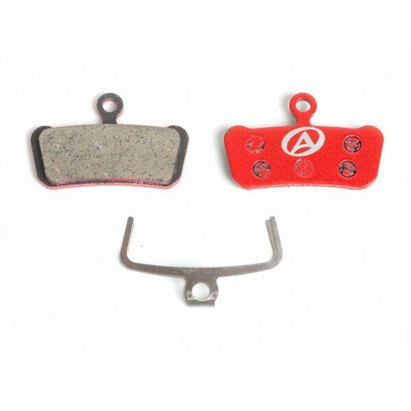Fékbetét tárcsafékhez ABS-67 Avid Guide, piros - AUTHOR