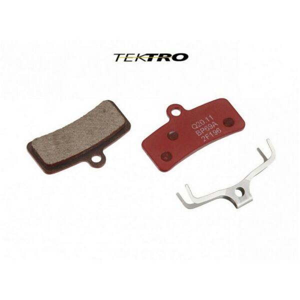 Fékbetét tárcsafékhez TK-Q20.11 QUADIEM (2 db), piros - TEKTRO