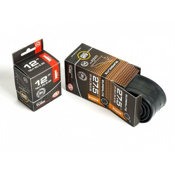 Tömlő ALT FV48 700 x 18-25c  (fekete), - AUTHOR