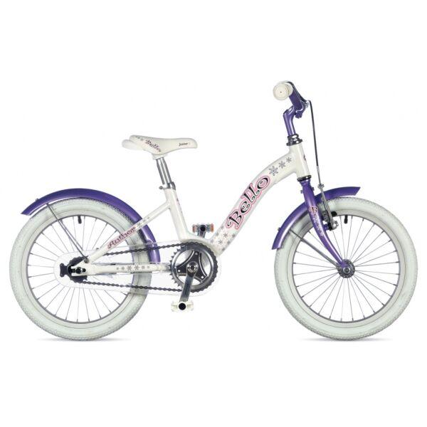 """Bello lány 16"""" gyerekkerékpár, fehér/lila - AUTHOR"""