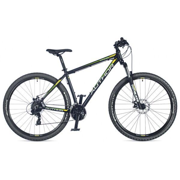 "Rival 29"" MTB kerékpár, matt fekete/matt fekete - AUTHOR"