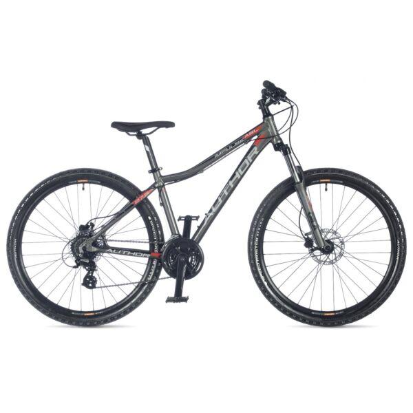 """Impulse ASL női 27,5"""" MTB kerékpár, matt szürke/matt szürke - AUTHOR"""