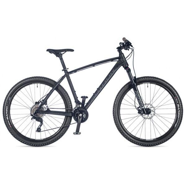"Traction 27,5"" MTB kerékpár, matt fekete/matt fekete - AUTHOR"