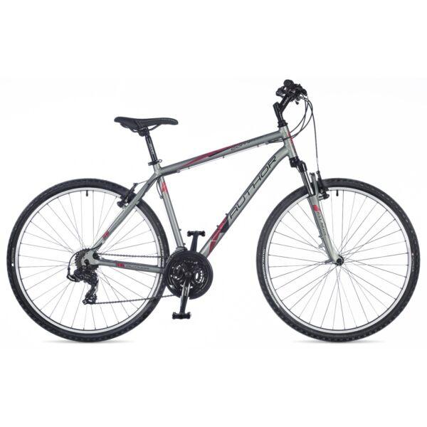 Compact cross kerékpár, matt világosszürke/matt világosszürke - AUTHOR