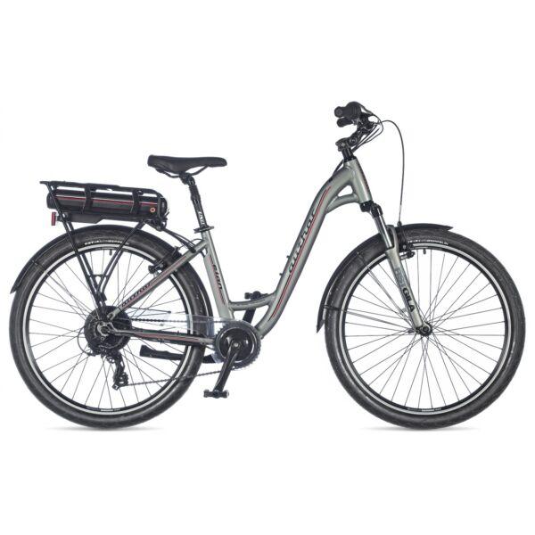 Elan női touring e-bike, sötétszürke/sötétszürke - AUTHOR