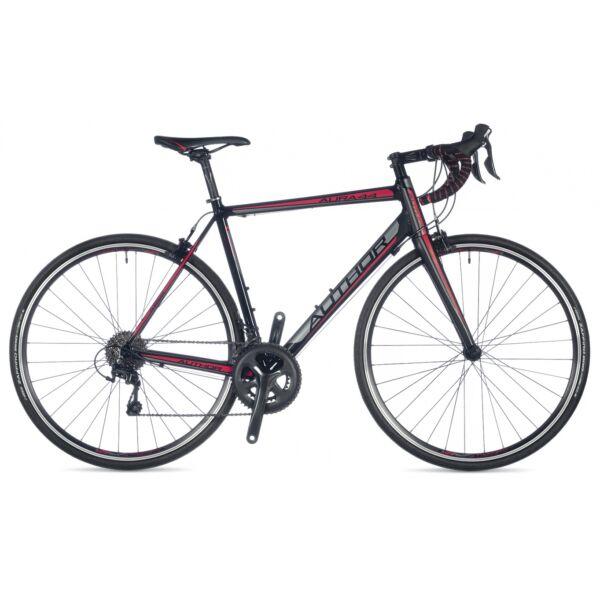 Aura 44 országúti kerékpár, fekete/piros/fekete - AUTHOR