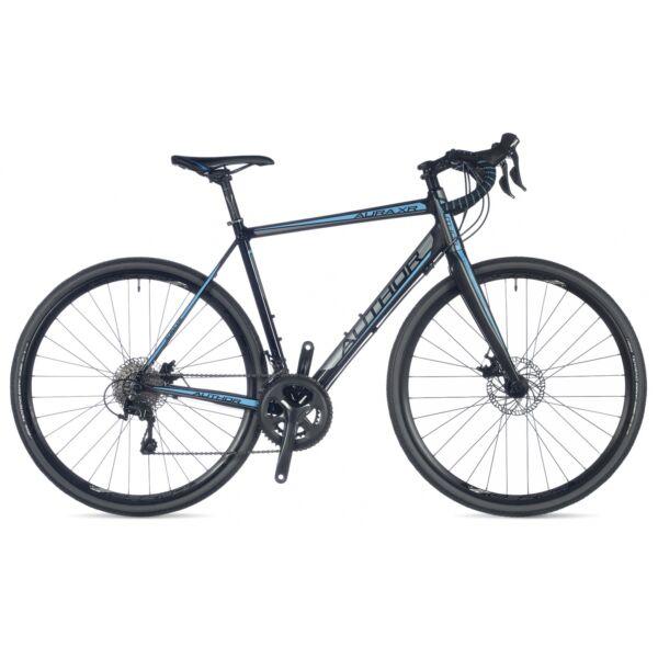 Aura XR országúti kerékpár, fekete/kék/fekete - AUTHOR