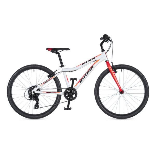 """Ultima lány 24"""" gyerek kerékpár, fehér / piros - AUTHOR"""