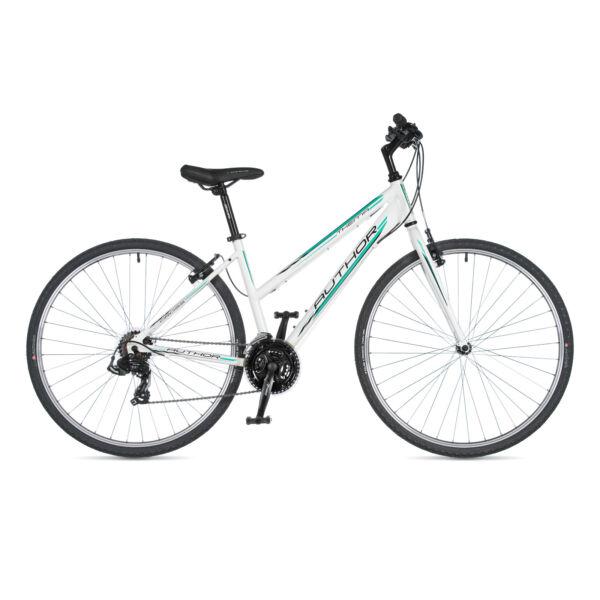Thema női CROSS kerékpár, fehér / fehér - AUTHOR