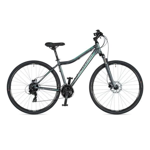 Horizon ASL női CROSS kerékpár, matt szürke / matt szürke - AUTHOR
