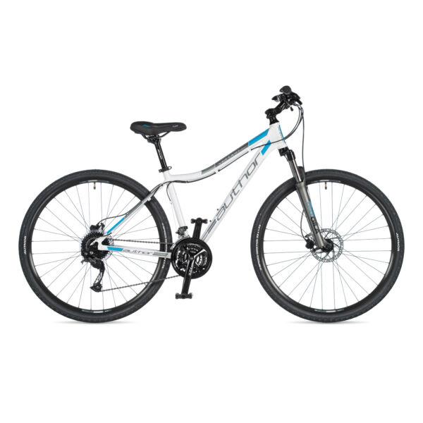Vertigo ASL női CROSS kerékpár, fehér / ezüst - AUTHOR