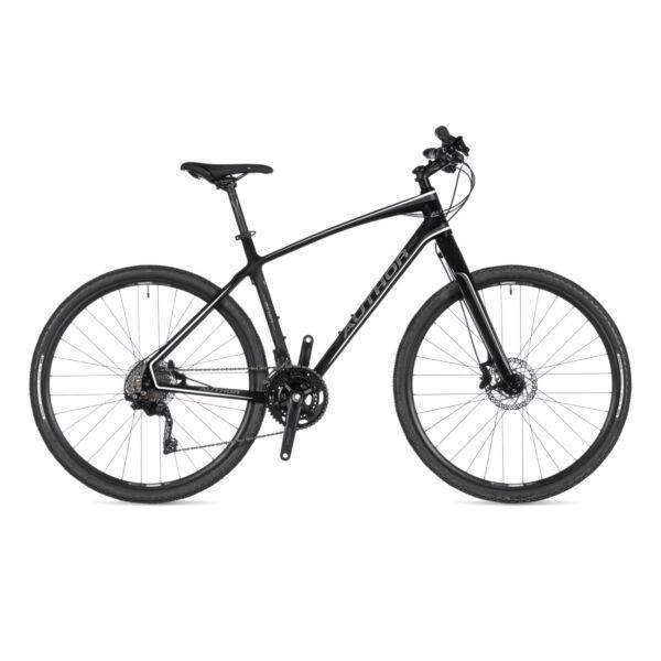 Avion férfi CROSS kerékpár, karbon / fehér / fekete - AUTHOR