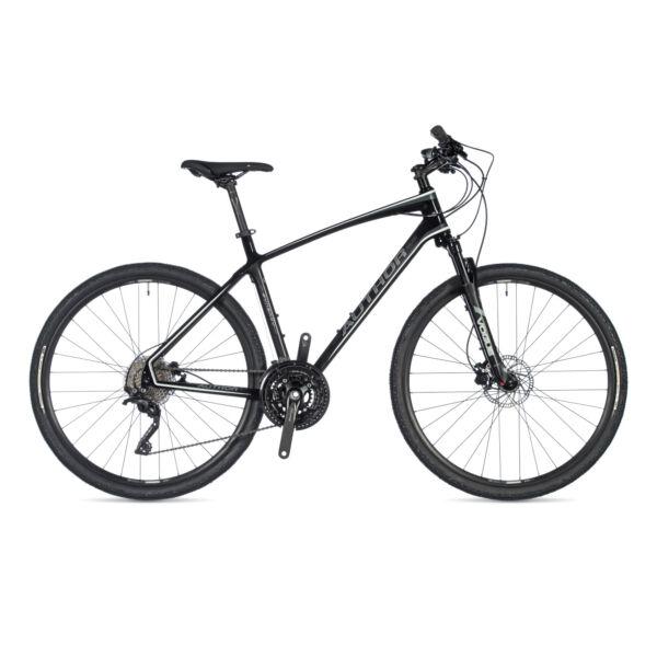 Synergy férfi CROSS kerékpár, karbon / fehér / fekete - AUTHOR