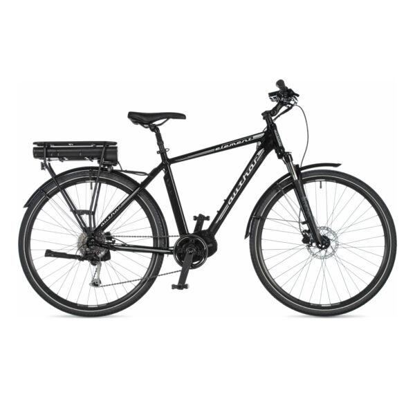 Element férfi CROSS ELEKTROMOS (BAFANG Max Motor 250 W) kerékpár, fekete / fekete - AUTHOR