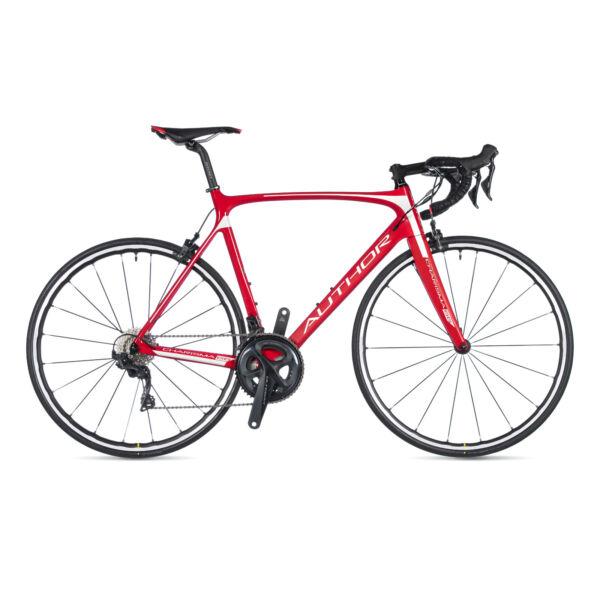 Charisma 66 országúti kerékpár, (karbon váz) piros / piros - AUTHOR