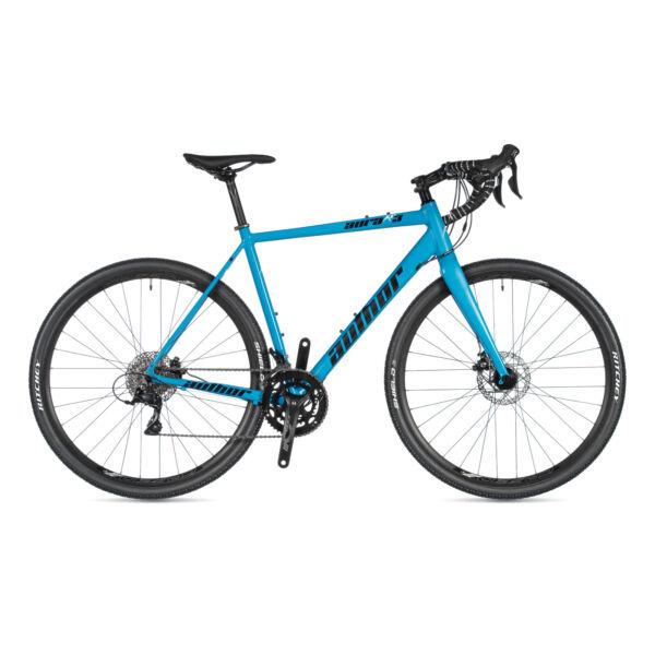 Aura XR3 DISC gravel kerékpár, (aluminium váz) világoskék / világoskék - AUTHOR