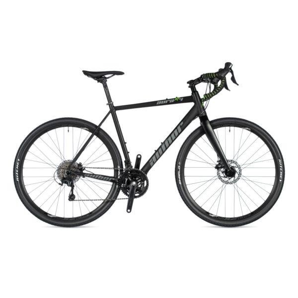 Aura XR4 DISC gravel kerékpár, (aluminium váz) matt fekete / matt fekete - AUTHOR