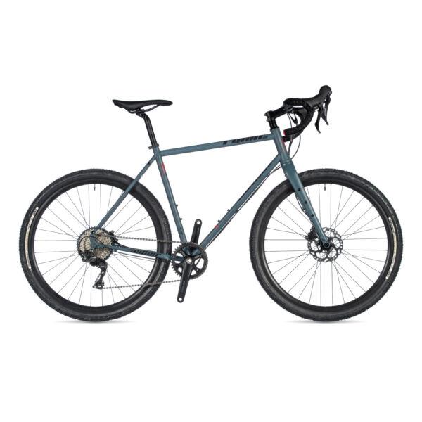 Ronin XC DISC gravel kerékpár, (chromoly REYNOLDS váz) matt szürke / matt szürke - AUTHOR