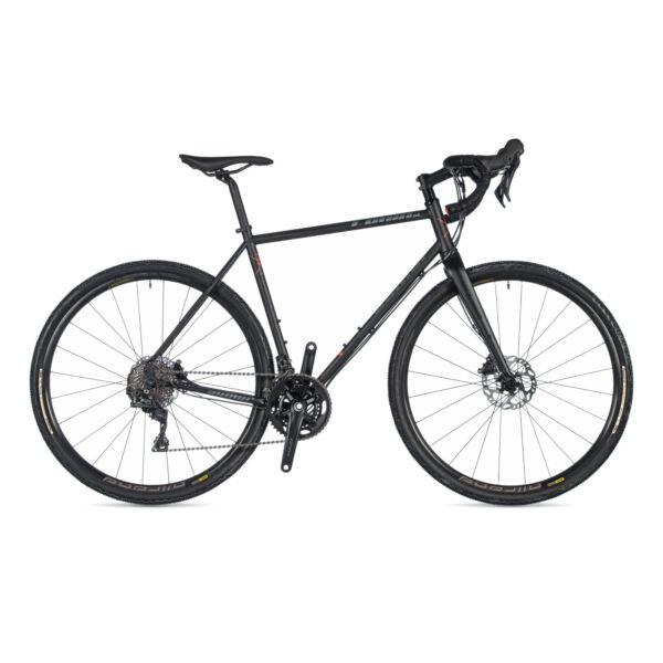 Ronin SL DISC gravel kerékpár, (chromoly REYNOLDS váz) matt fekete / matt fekete - AUTHOR