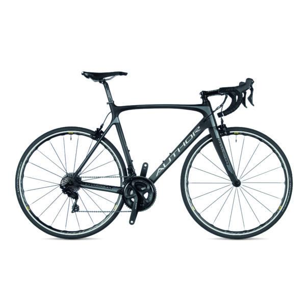 Charisma 55 országúti kerékpár, karbon/matt ezüst/karbon matte - AUTHOR