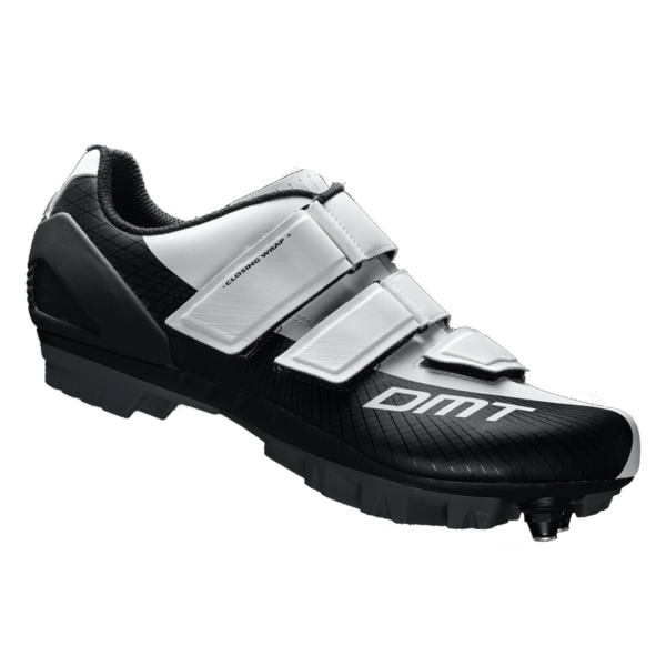 M6 MTB kerékpáros cipő, fehér/fekete - DMT